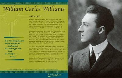 william carlos williams the artistic poet Why william carlos williams was one of the greatest poets william carlos williams died in his sleep at home from a cerebral deeply artistic method of.