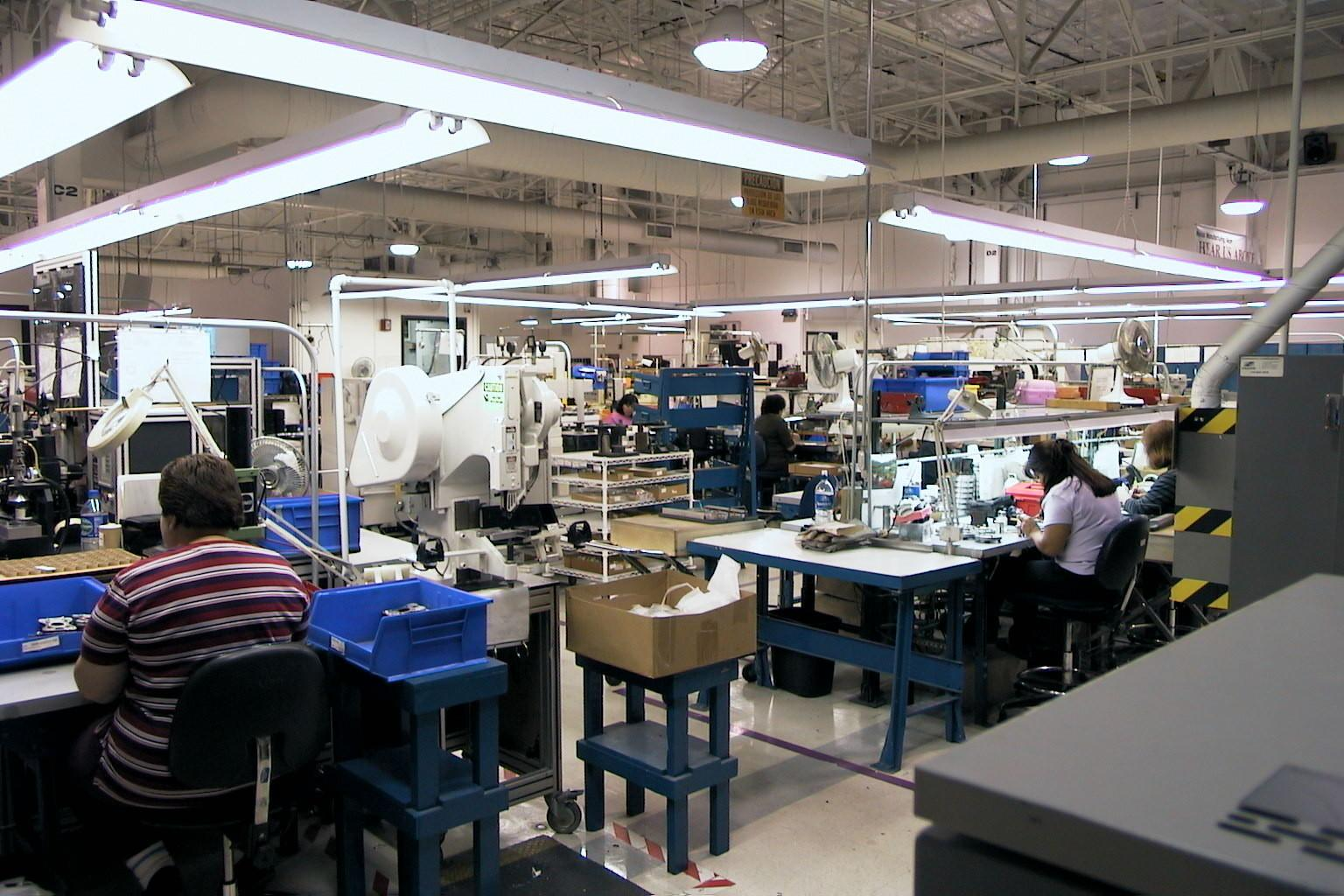 how to make an assembly line project