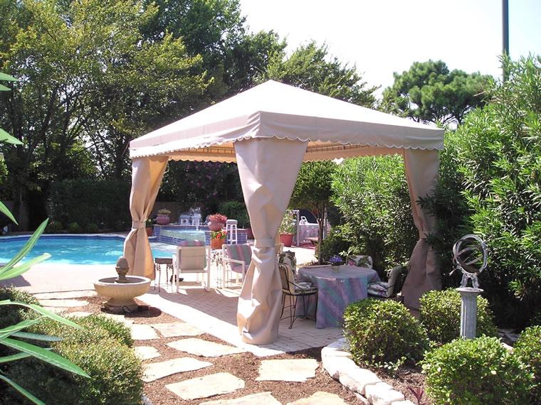 Sunccabana for Custom pool cabanas