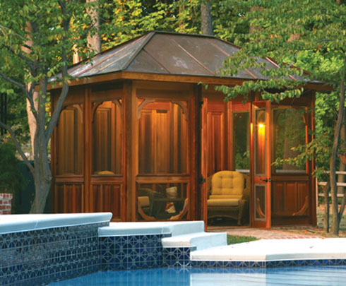 Sunccabana for Outdoor pool cabana