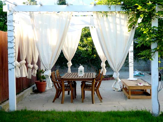 Image Result For Outdoor Balcony Curtains