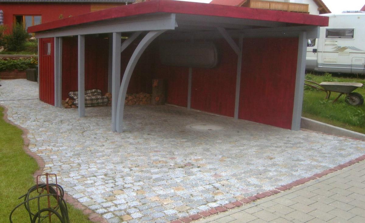 carport pflastern my blog. Black Bedroom Furniture Sets. Home Design Ideas