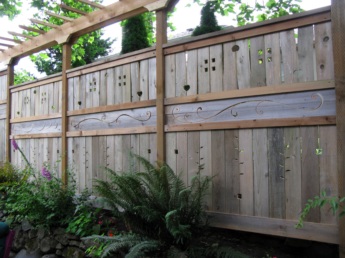 Sunffence for Wood privacy fence ideas