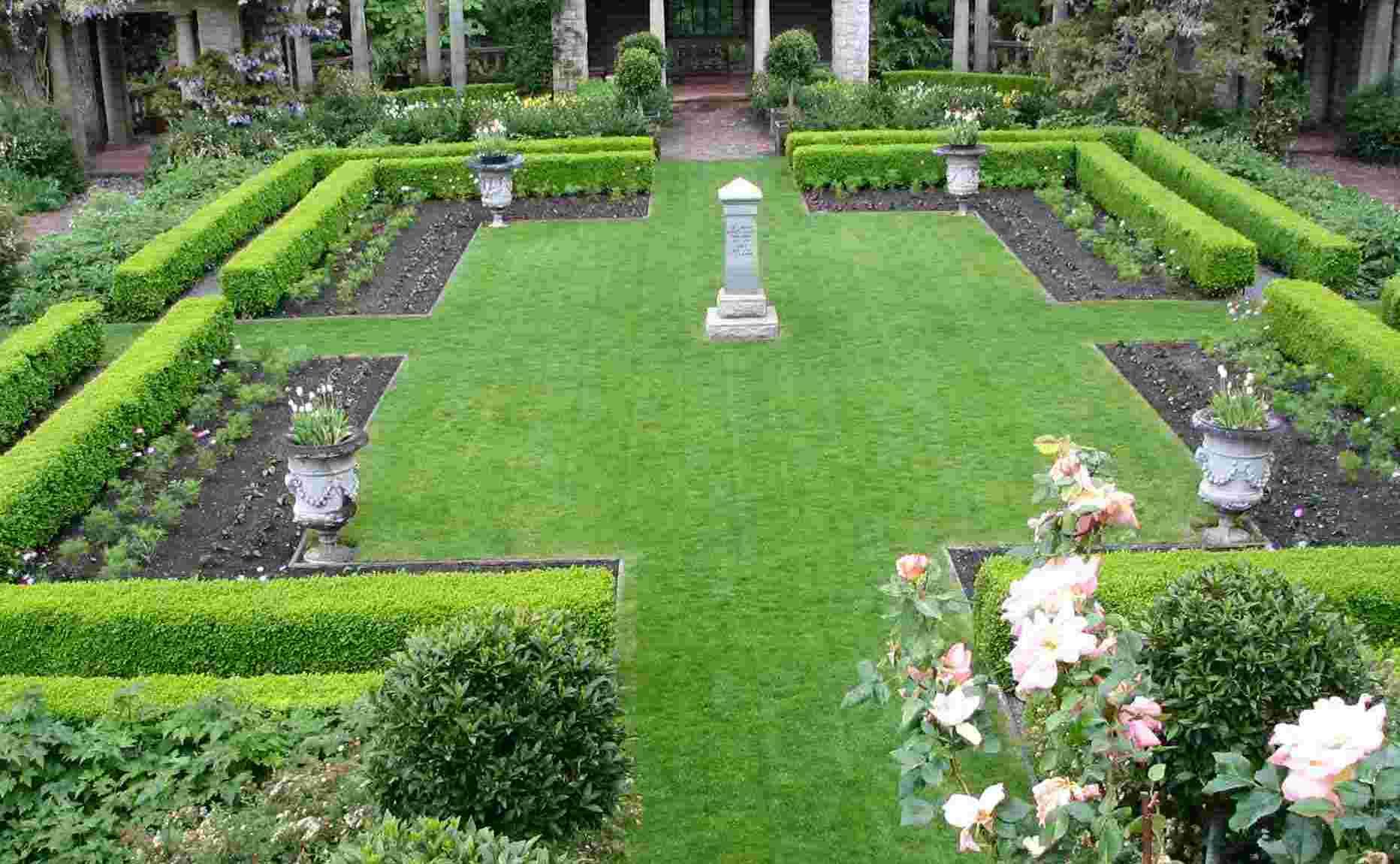 Sunfformal garden for Formal garden