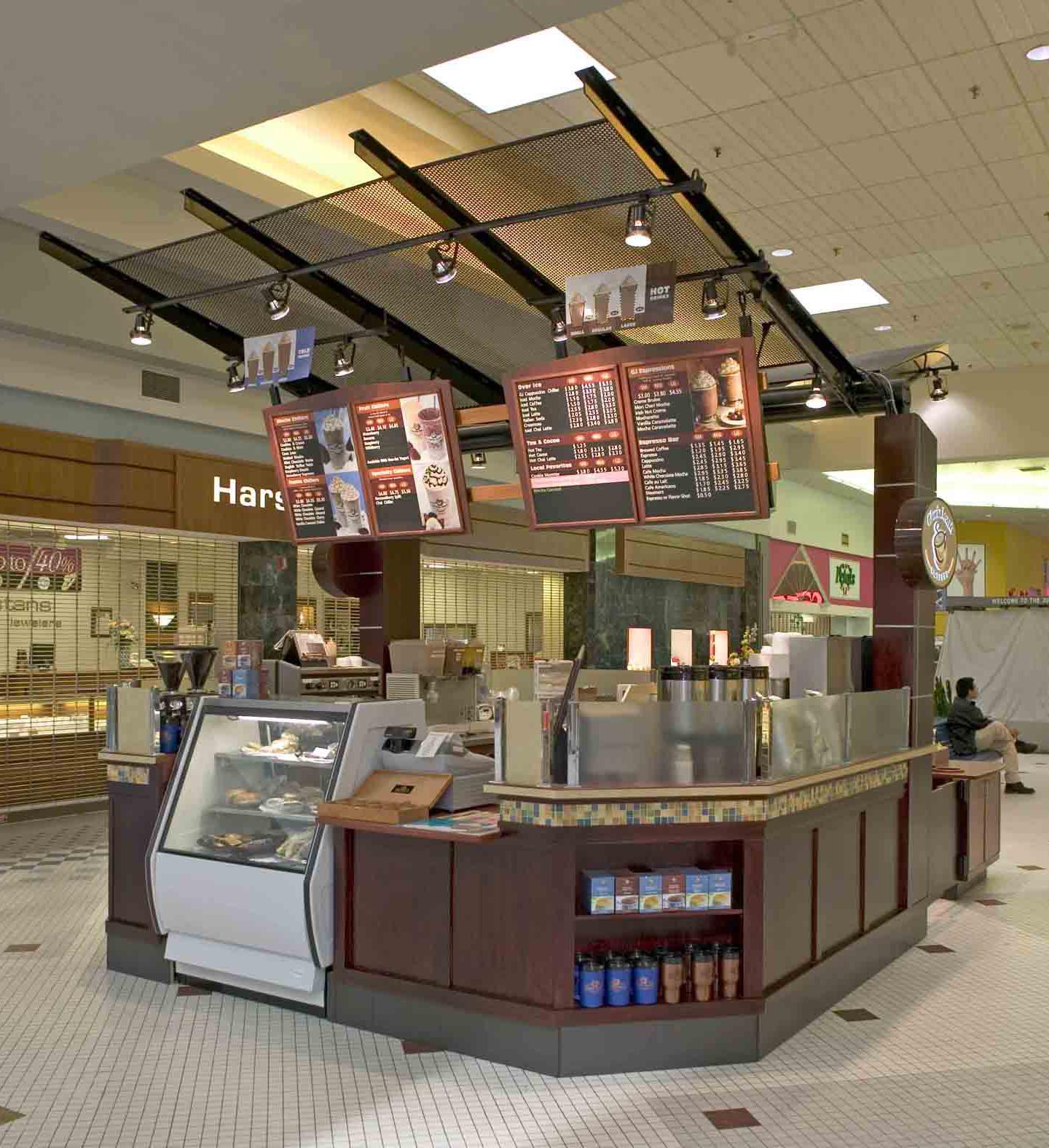 Sunkkioskindoor for Indoor food kiosk design