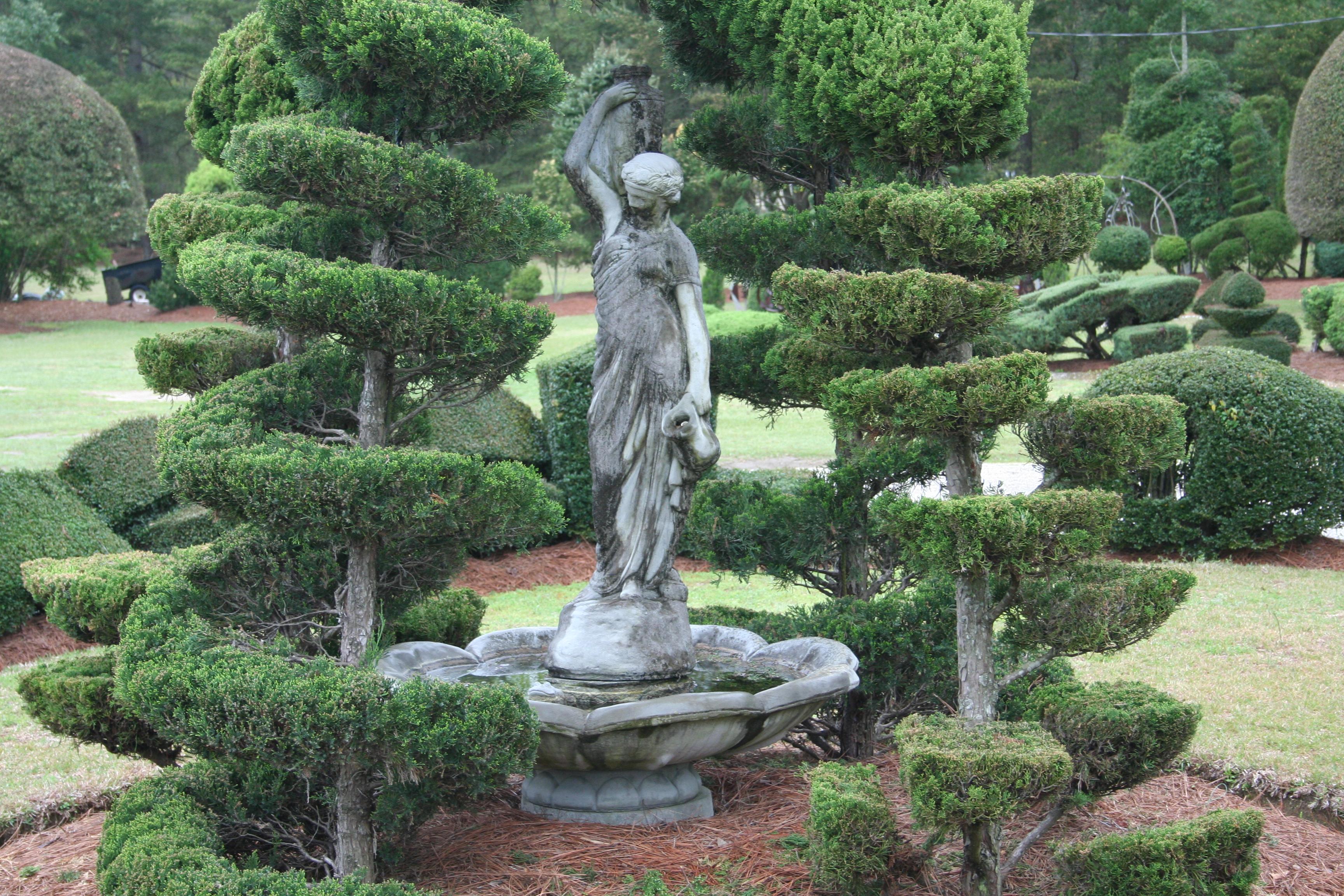 Sunttopiary Garden