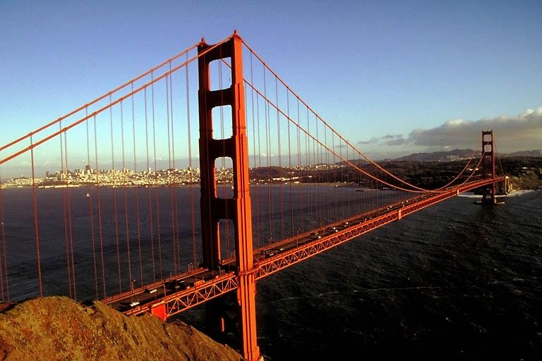 essays about the golden gate bridge Historical essays part one by ann garrison part two by dr weirde the golden gate bridge from fort point, directly below the south end photo: chris carlsson.